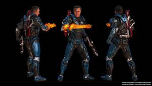 Mass Effect Occitania 2 - Elvis Williams