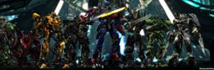 Transformers - Autobots Dual Screen Wallpaper