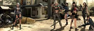 Phantomers vs Sudden Attack Dual Screen Wallpaper