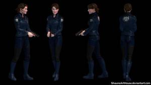 Maria Hill - Cobie Smulders custom 3D model