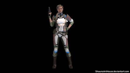 Krossover Kombat - A New Challenger: Cassie Cage by ShaunsArtHouse