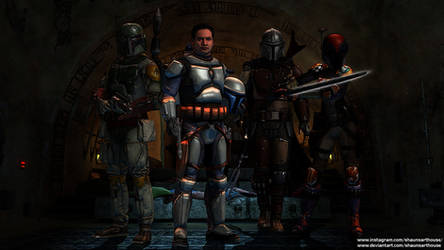 Star Wars The Mandalorians Wallpaper