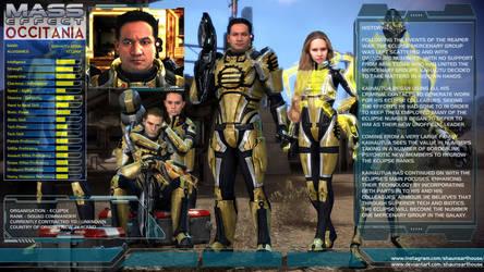 Mass Effect Occitania - Kaihautu Aitua Profile