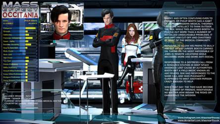 Mass Effect Occitania - Philip Booth Profile