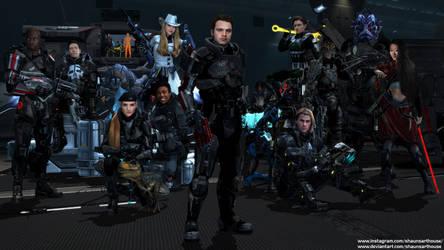 Mass Effect Occitania 4 - Wolfe Pack
