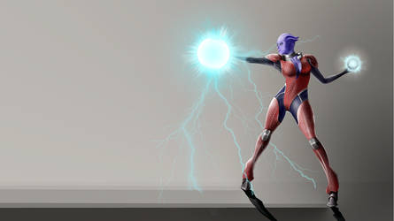 ASARI wallpaper  1366x768 by Flashlyght