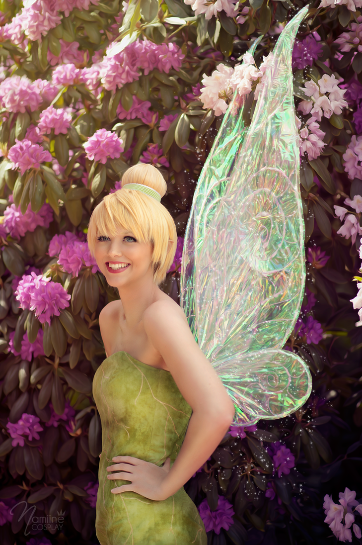 Tinker Bells smile Flower power by NicaCosplay