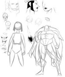 Adrianus Sketches