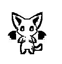 Chibi cat lineart by RiseoftheStorm