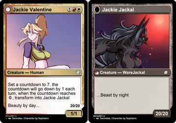 Jackie Valentine. (character by sephzero) by Johnyboi1776