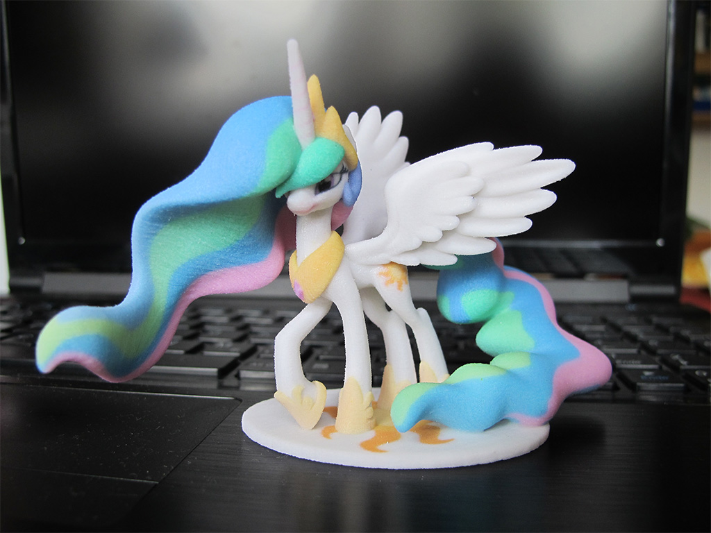 My Little Pony Celestia 3D printed @Etsy ! by Vidal-Design