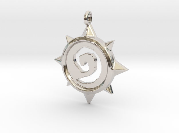 HearthStone Pendant 3D printed ! by Vidal-Design