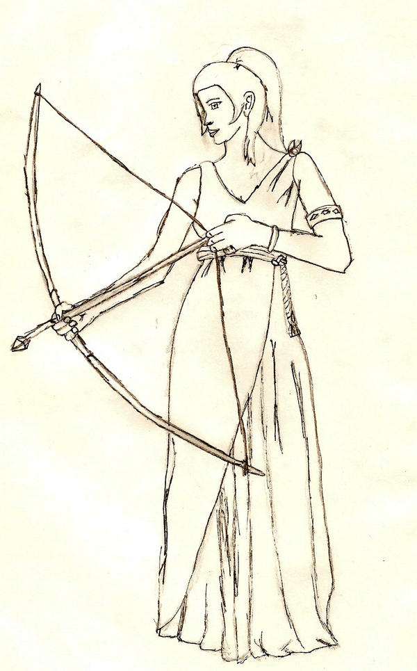 Artemis: Goddess of the hunt by - 95.9KB