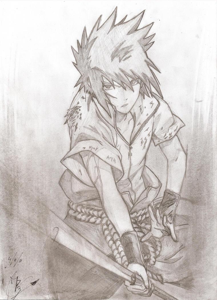 Sasuke by DarkWolf2011-2012