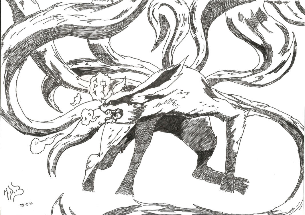 The Fury of Kyubi by DarkWolf2011-2012