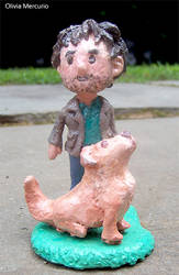 Will Graham Sculpture (FOR SALE!!!) by LIV4TheObsession