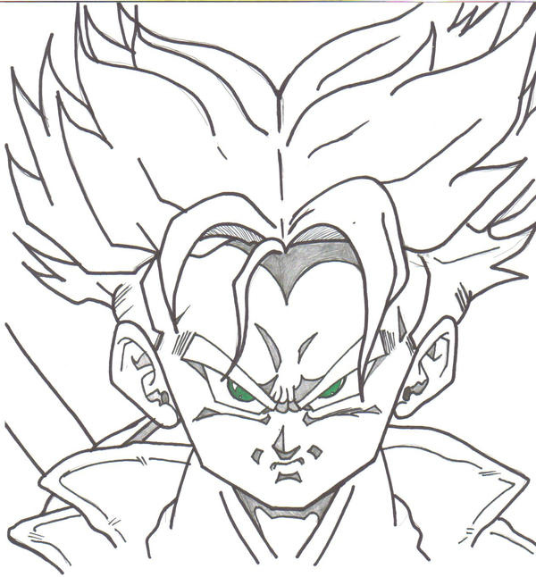Dragon Ball Z bardock para colorear - Imagui