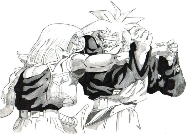 trunks fight by trunks24