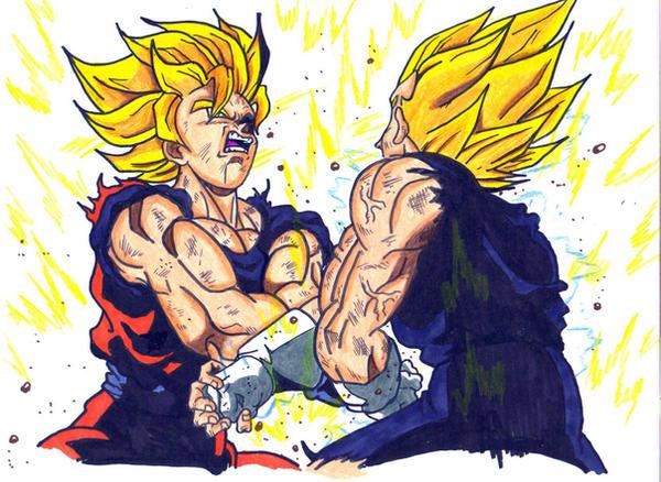 Dragonball Z #Goku #Vegeta