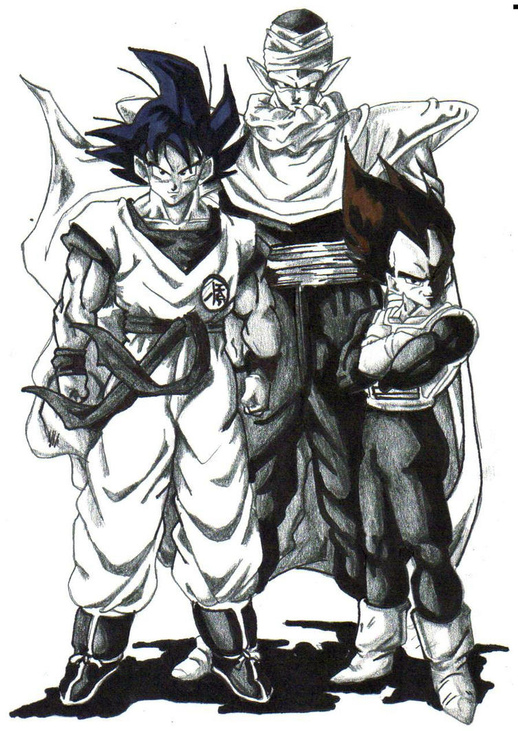 Image Result For Piccolo Coloring Pages