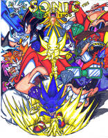 sonic comic cover 2 colored by trunks24