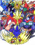 sonic comic cover 2 colored