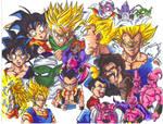 dbz buu saga colored