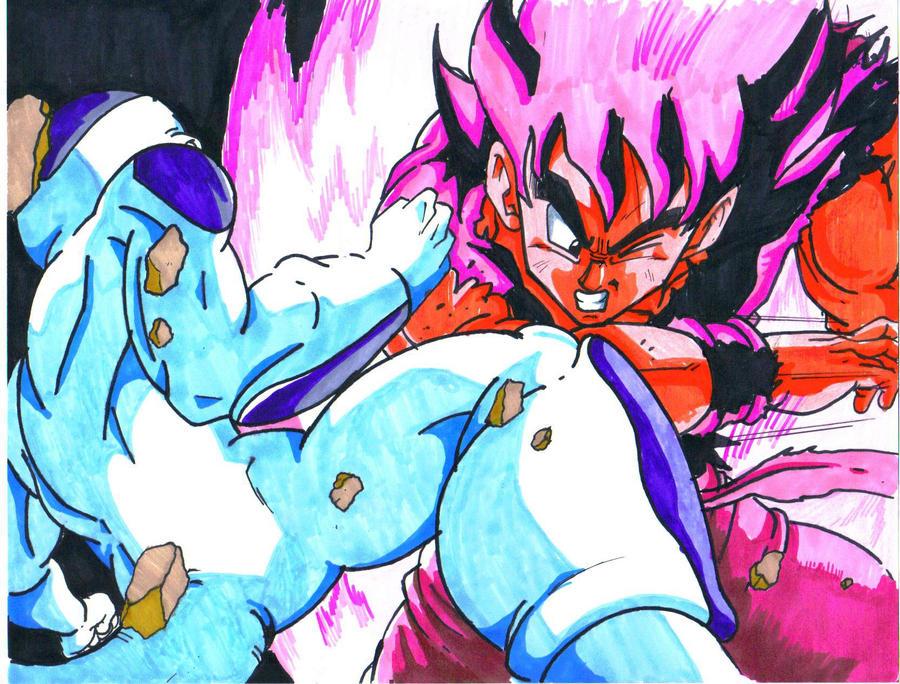 Frieza Vs Goku By Trunks24