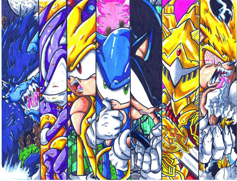 Sonic World: Autor 4