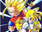 ssj2 gohan and super tails CL