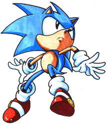classic sonic by trunks24