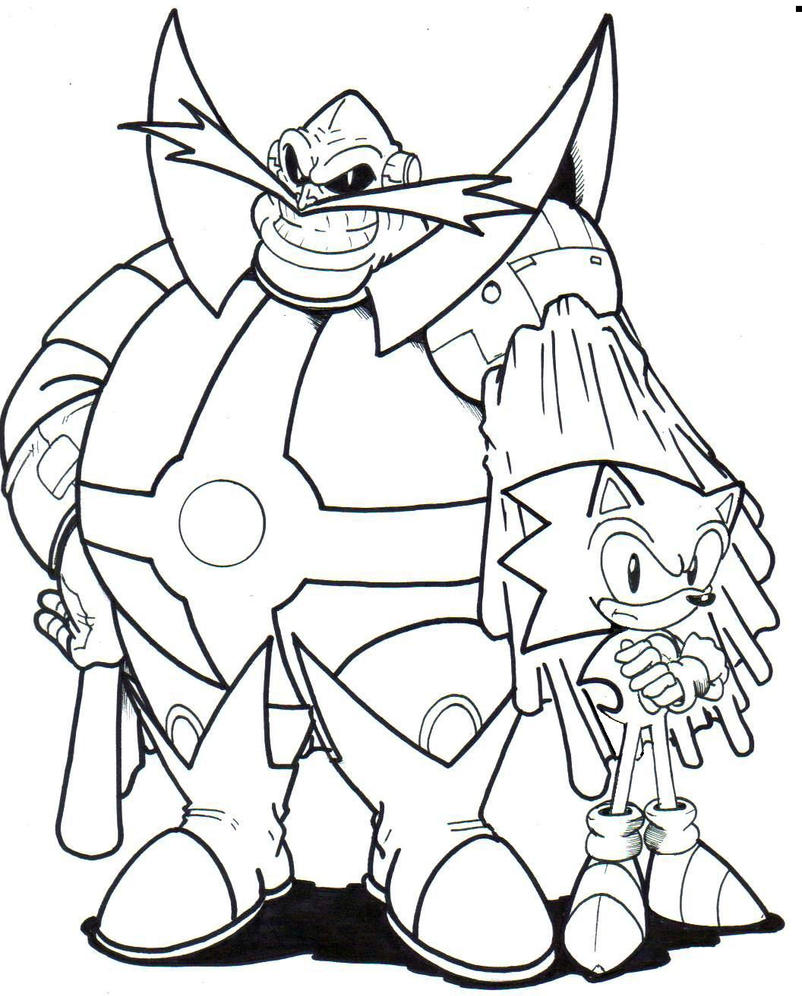 archie dr ivo robotnik and sonic la by trunks24 on deviantart