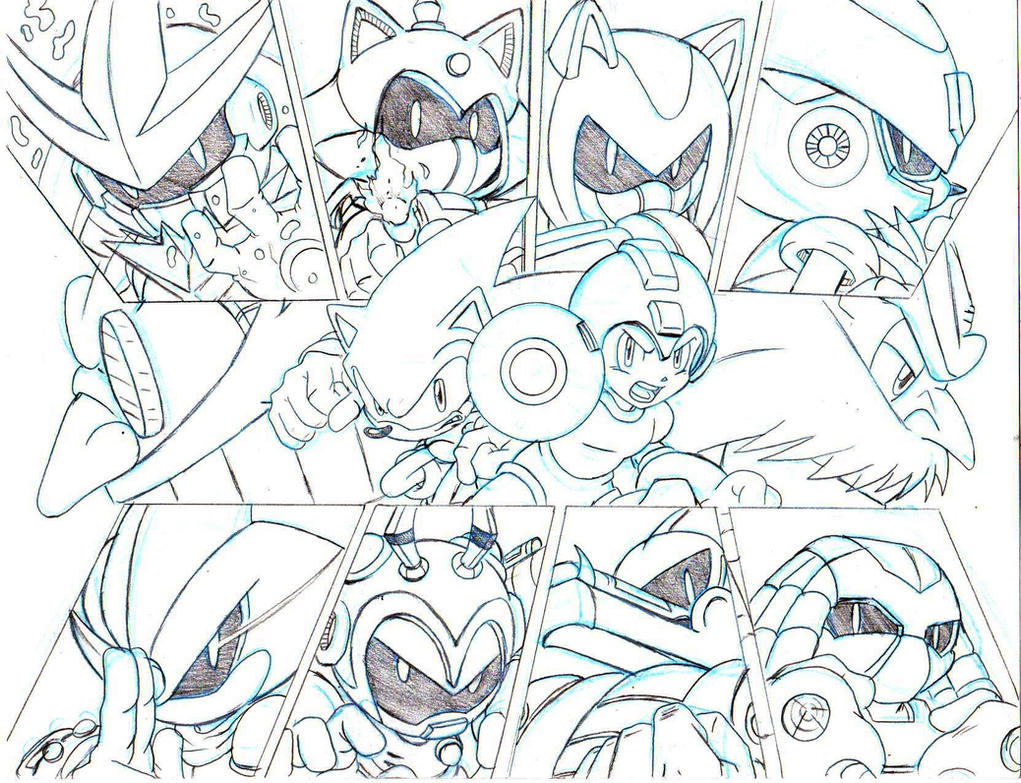 Sonic And Megaman Coloring Pages Disney Coloring Pages - Free ...
