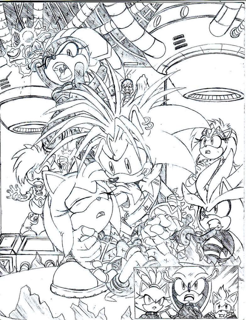 Sonic Universe Secret Rose 4 by trunks24