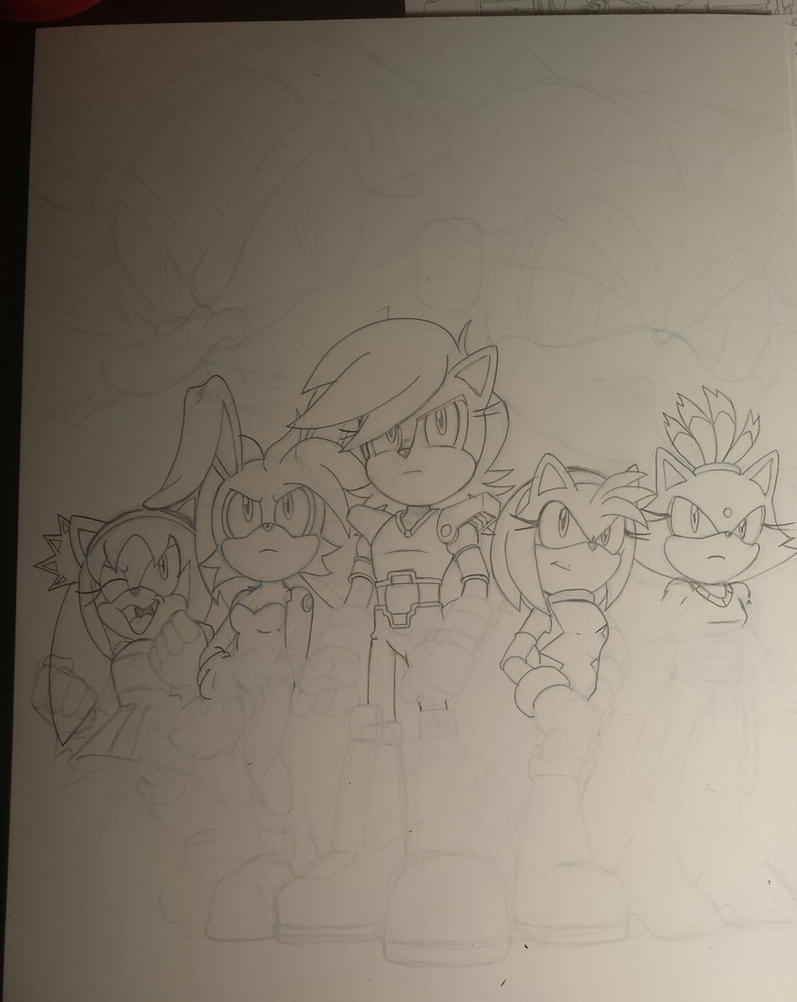 sonic universe ladies night fan cover teaser by trunks24