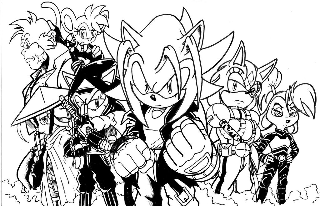 The Elite Freedom Fighters LA by trunks24