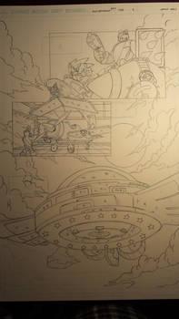 sonic comic origins rotor pencils pg4