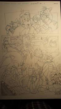 sonic comic origins rotor pencils pg5