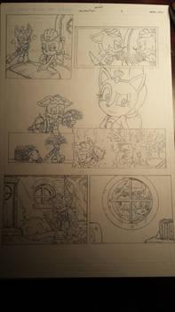sonic comic origins ant pencils pg3