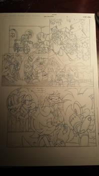 sonic comic origins ant pencils pg4