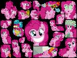 Vectored Pinkie Pie Wallpaper