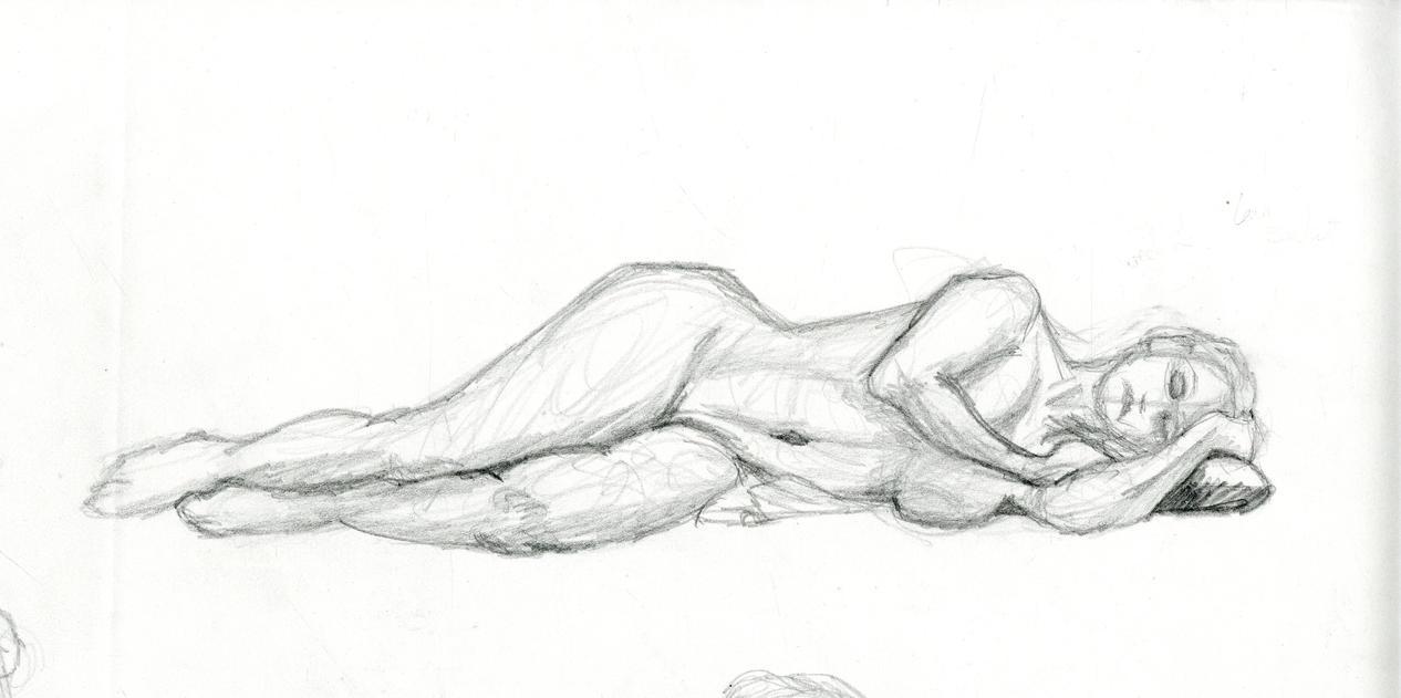 Lounging Model by Ryoki-Fureaokibi