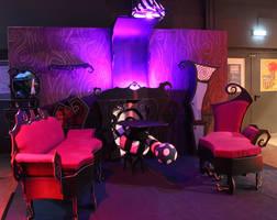 Tim Burton Gothic Room