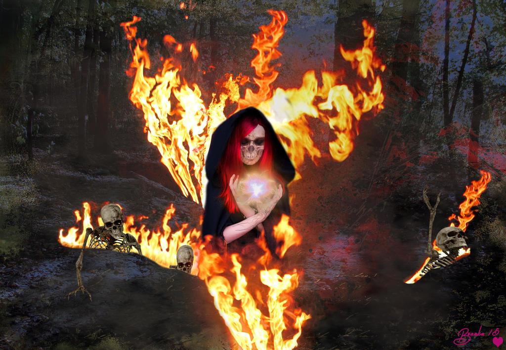 Conjuring the Dead from the Underworld by Branka-Artz