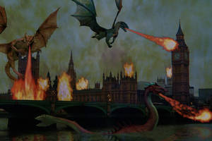 The Incursion of London by BrankaArts