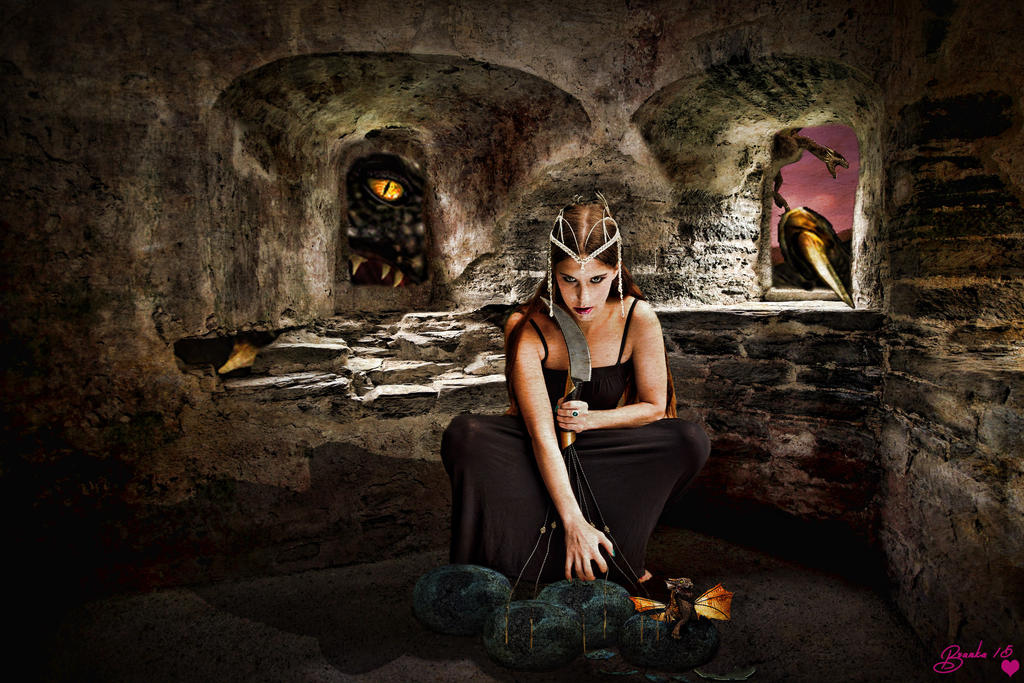 The Dragon Egg Thief by Branka-Johnlockian