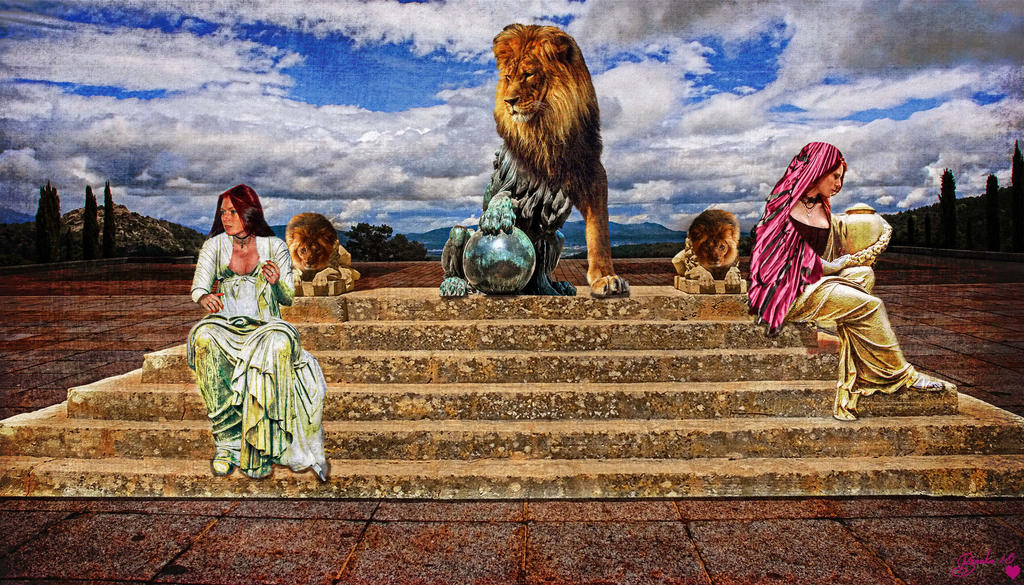 The Day the Statues Came to Life by Branka-Johnlockian