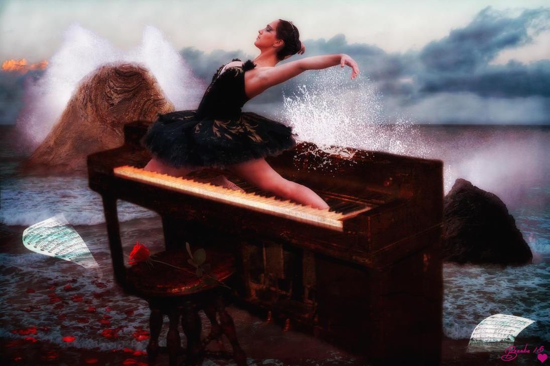 Dance to the Rhythm of the Ocean by Branka-Johnlockian