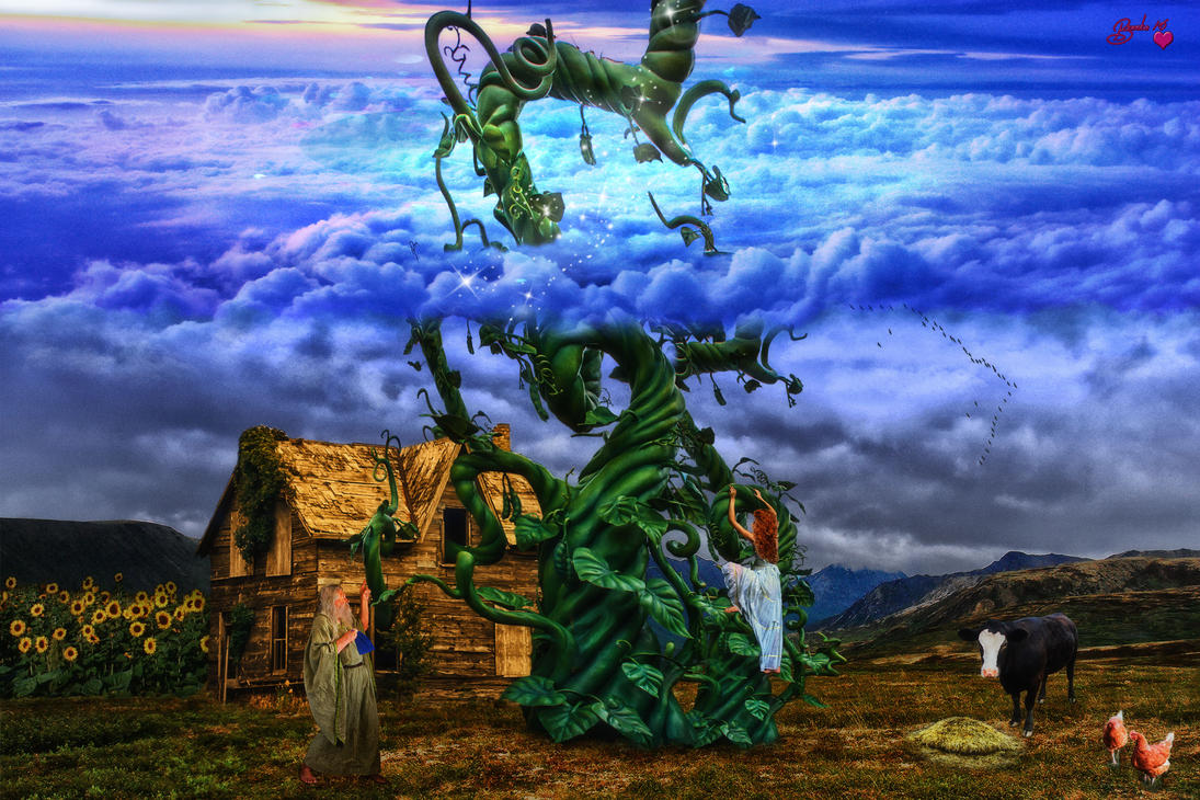 Jane and the Beanstalk by Branka-Johnlockian