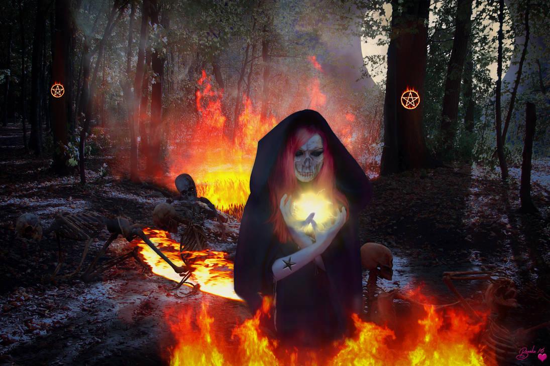 Conjuring the Dead from the Underworld #2 by Branka-Artz